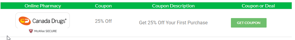 Canada Drugs Coupon