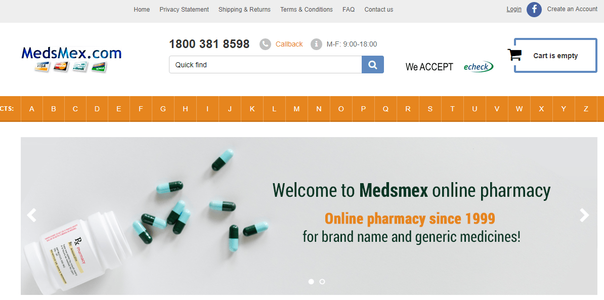 Meds Mex, a Mexican Online Pharmacy