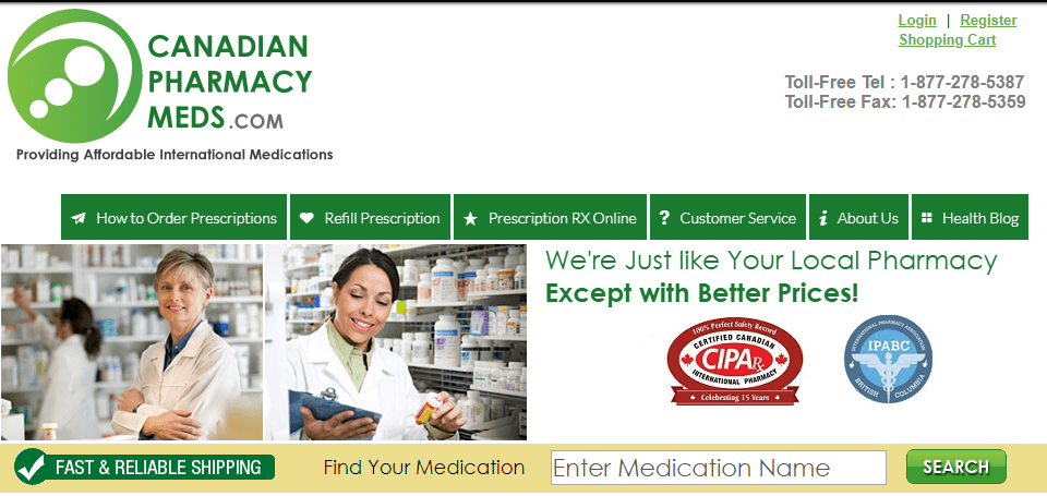 Canadian Pharmacy Meds Review