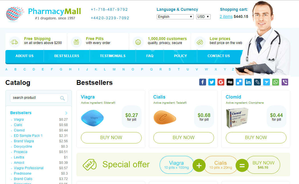 Pharmacy Mall, Best Online Discount Pharmacy