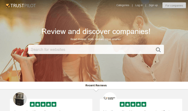 One Example of a Third-Party Review Platform
