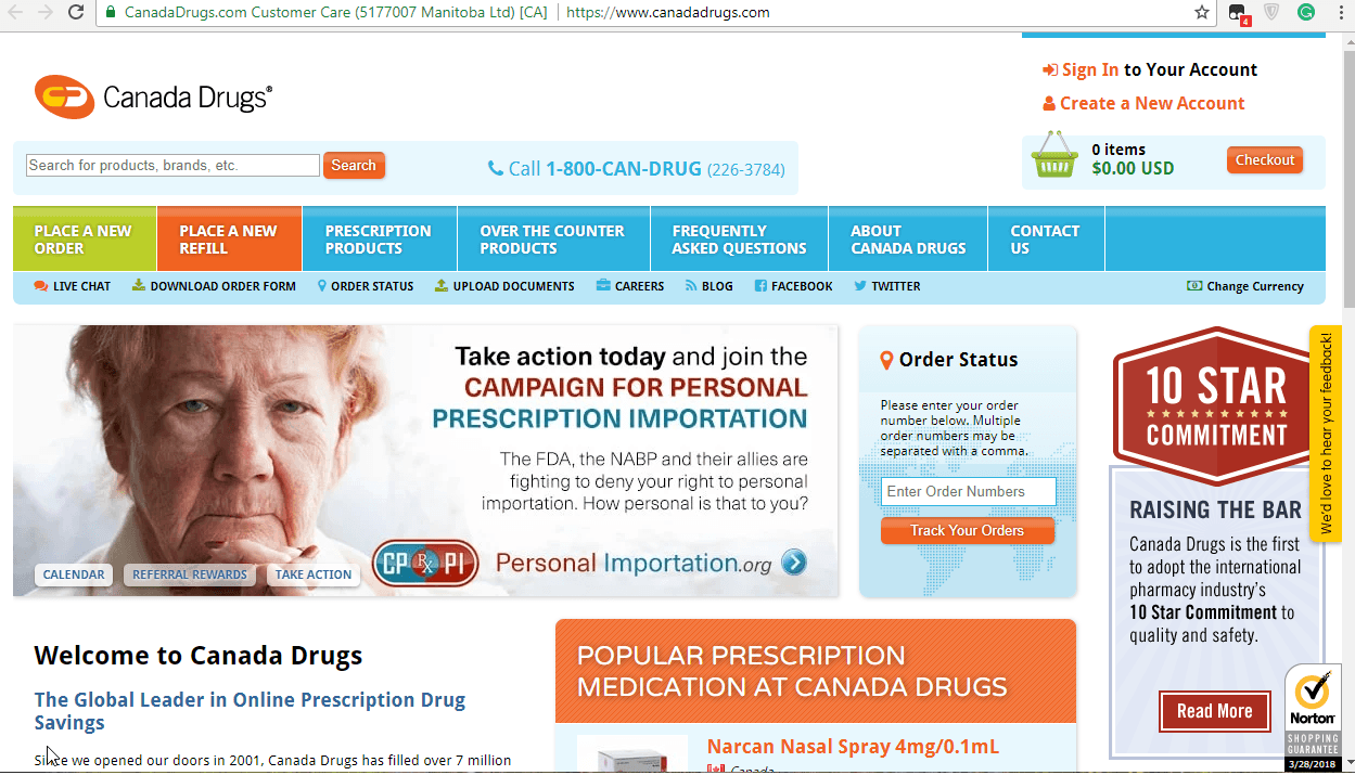 Canada Drugs: Refill Your Prescriptions Easily and Affordably