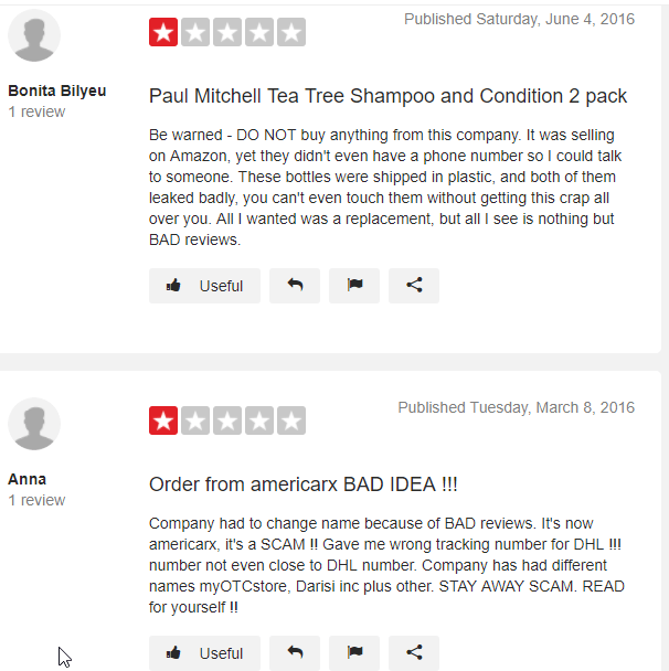 American Rx Smart Shop Reviews