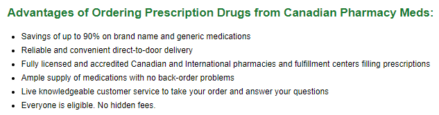 One of the advantages we found from this site was the chance to save up to 90% on your medication
