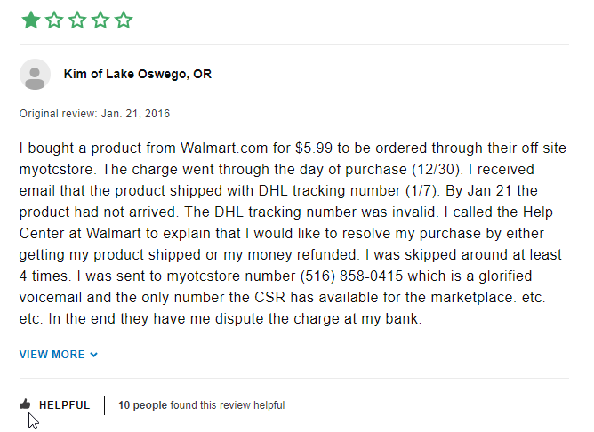 My OTC Store Review (source: https://www